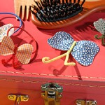 How to make butterfly barrettes