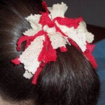 no sew hair scrunchie