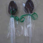 Learn how to make chocolate spoons