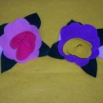 flower napkin ring craft