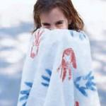 Personalize a bath towel