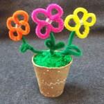 Chenille Stem Flowers