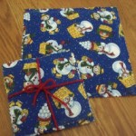 no sew scented hot pad and coasters