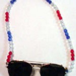 how to make a beaded sunglass holder