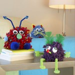 pom pom critter craft
