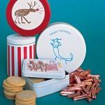 decorate cookie tins
