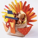 how to make a turkey centerpiece